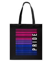 Barcode Bisexual Tote Bag front