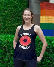 Donut Squad Ladies Flowy Tank lifestyle-bellaflowy-tank-front-2