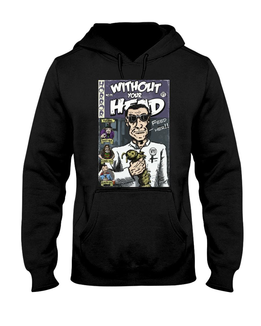 Dieter Laser vintage comic Without Your Head tee Hooded Sweatshirt