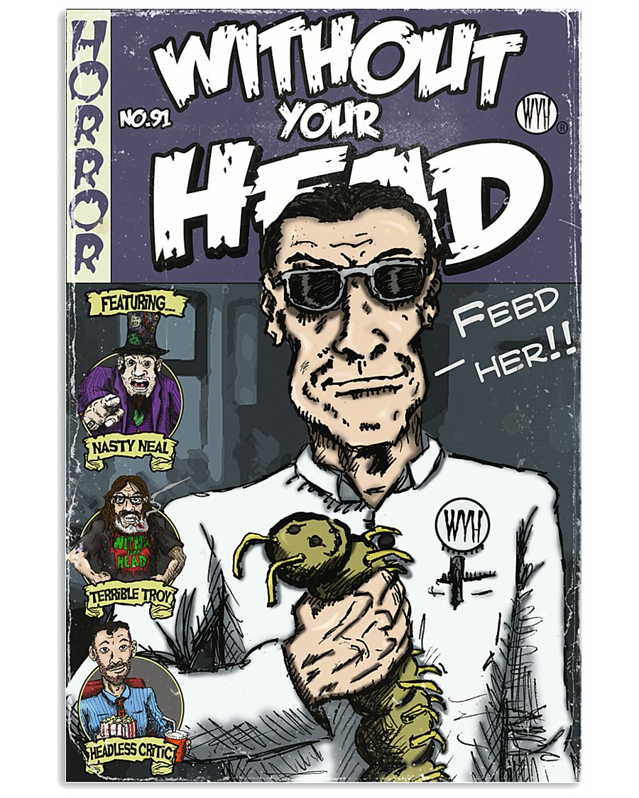 Dieter Laser vintage comic Without Your Head tee 16x24 Poster