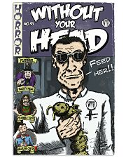 Dieter Laser vintage comic Without Your Head tee 16x24 Poster front