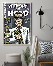 Dieter Laser vintage comic Without Your Head tee 16x24 Poster lifestyle-poster-1