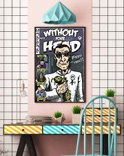 Dieter Laser vintage comic Without Your Head tee 16x24 Poster lifestyle-poster-6