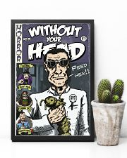 Dieter Laser vintage comic Without Your Head tee 16x24 Poster lifestyle-poster-8