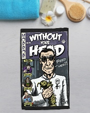 Dieter Laser vintage comic Without Your Head tee Hand Towel aos-towelhands-front-lifestyle-7