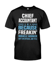 Chief Accountant 095904 095904 Premium Fit Mens Tee tile