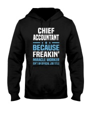Chief Accountant 095904 095904 Hooded Sweatshirt front