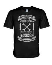 Field Service Technician Skilled Enough V-Neck T-Shirt thumbnail