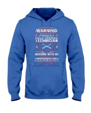 Field Service TechnicianX27S Girl Hooded Sweatshirt front