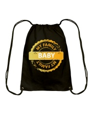 FAMILY - I LOVE YOU BABY Drawstring Bag thumbnail