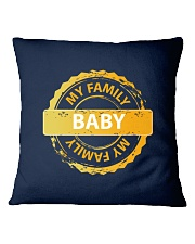 FAMILY - I LOVE YOU BABY Square Pillowcase thumbnail