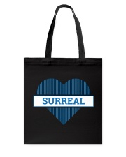 Surreal and Jessika Klide Author logo tote Tote Bag back