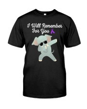 I Will Remember For You Alzheimers Awareness2 Classic T-Shirt front