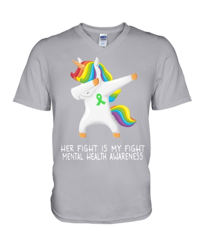 Mental Health - Dabbing unicorn