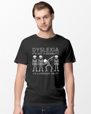 Dyslexia it's not disability Awareness T-shirt Classic T-Shirt lifestyle-mens-crewneck-front-15