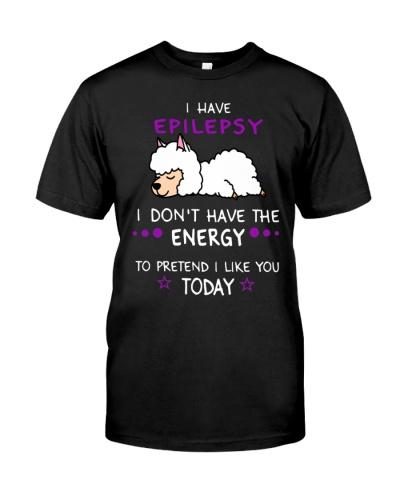 Epilepsy -  lazy llama