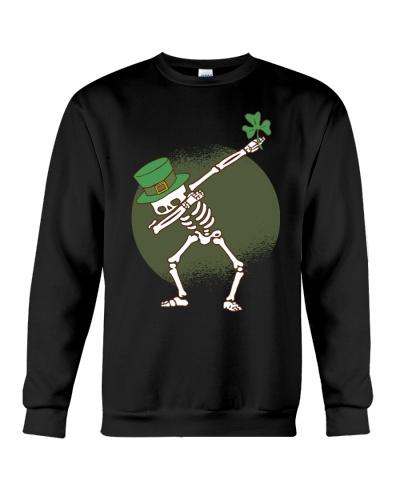 St Patricks Day Dabbing Skeleton Funny Gift