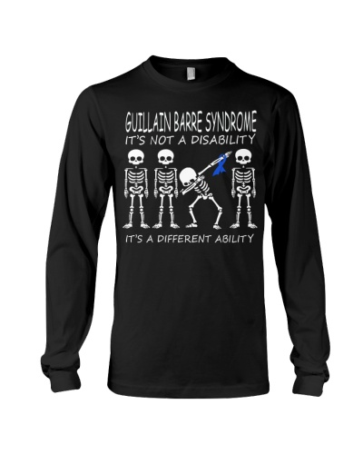 Dabbing skeleton Guillain Barre Syndrome