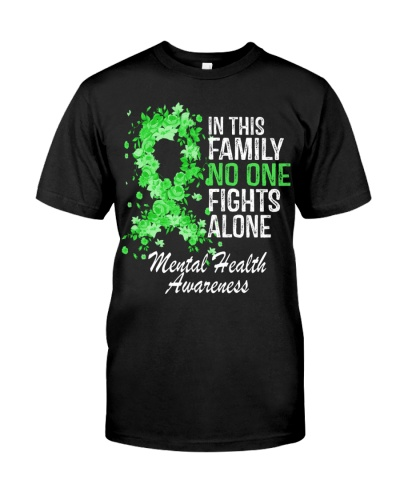 Mental Health - In this family No one Fights Alone