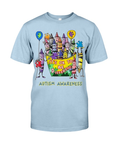 Autism Awareness It s Ok To Be Different