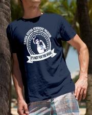 Cauda Equina Syndrome warrior Classic T-Shirt lifestyle-mens-crewneck-front-10