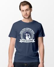 Cauda Equina Syndrome warrior Classic T-Shirt lifestyle-mens-crewneck-front-15