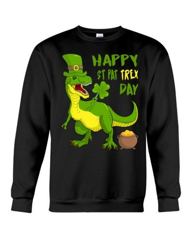 St Patricks Day Funny T-rex