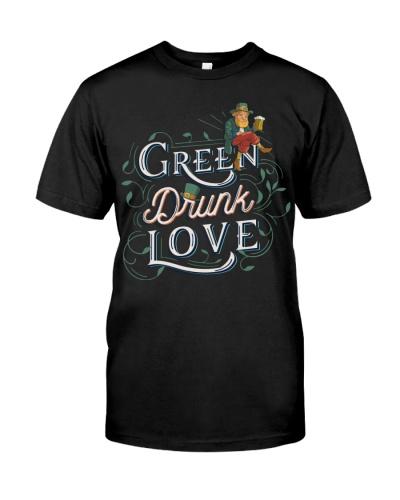 St Patricks Day  green drunk