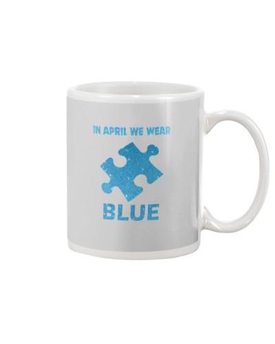 In April We Wear Blue - Autism