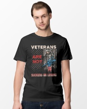 Veterans Are Not Suckers Or Losers Classic T-Shirt lifestyle-mens-crewneck-front-15