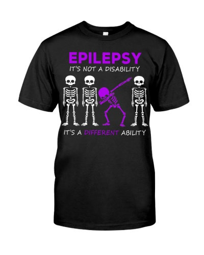 epilepsy Dabbing Skeleton