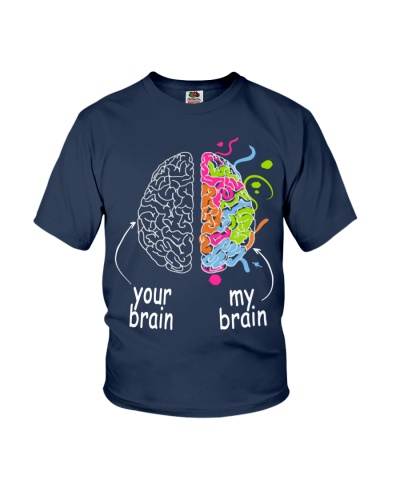 Autism Awareness - My brain your brain