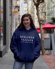 Dyslexia Teacher Hooded Sweatshirt lifestyle-unisex-hoodie-front-2