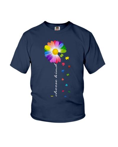 choose kind Autism awareness daisy flower
