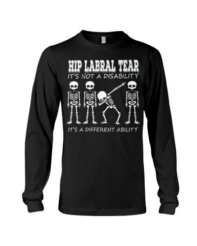 HIP LABRAL TEAR -Dabbing skeleton