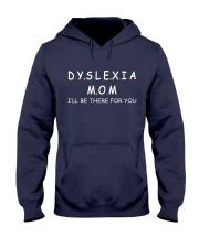 Dyslexia Mom 2 Hooded Sweatshirt front