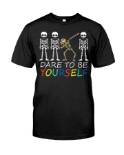 Autism Dare To Be Yourself Classic T-Shirt front