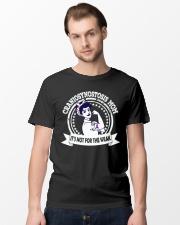 Strong Women CRANIOSYNOSTOSIS awareness Classic T-Shirt lifestyle-mens-crewneck-front-15