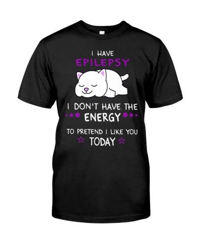 Epilepsy -  lazy cat