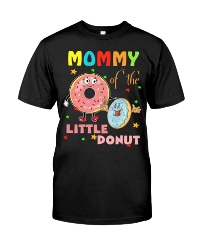 Mommy Of The Little Donut Birthday- Mommy Donut