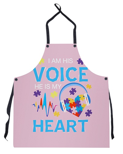I am His Voice He Is My Heart - Autism Awareness