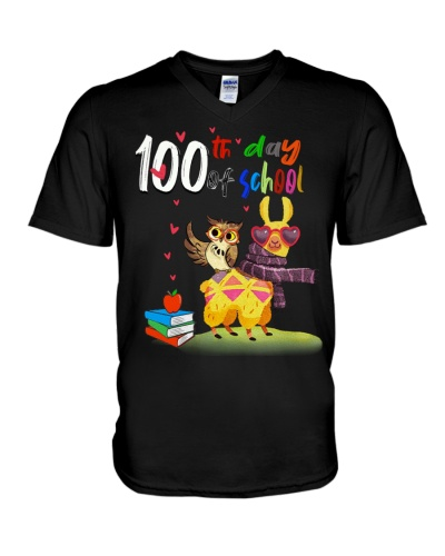 100th Day Of School Funny LLama