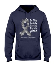 Dyslexia family Hooded Sweatshirt front