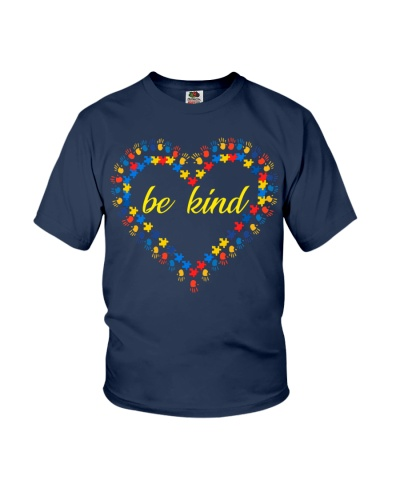 Autism Awareness Kindness Ribbon Heart 2