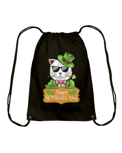 happy St Patricks Day - cat