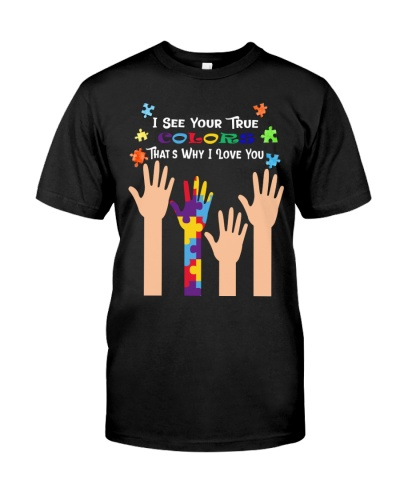 BeIn-Tees Autism - I see your true colors