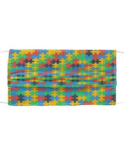 Autism Awareness Colorful Puzzles
