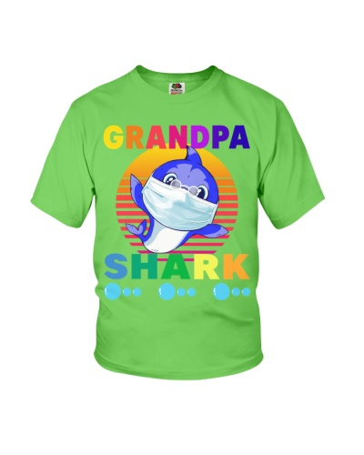 grandpa shark mask