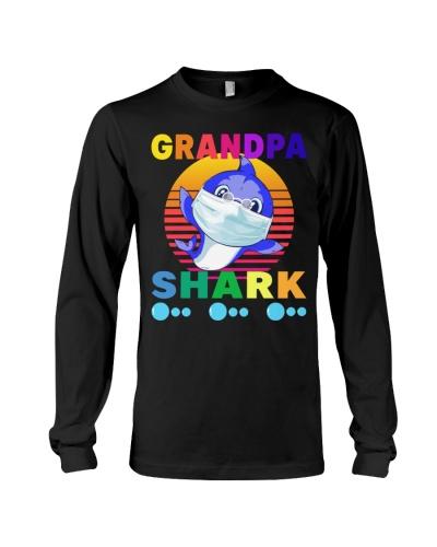 grandpa shark mask