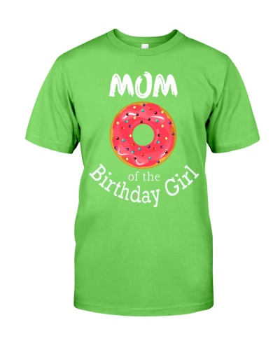 Family Donut Birthday Shirt Mom of the Birthday